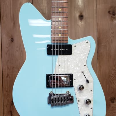 Reverend Double Agent W with Maple Fretboard 2010s Chronic Blue for sale