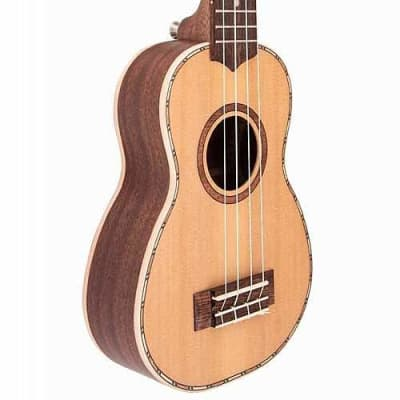 Lanikai CDST-S Solid Cedar Top Soprano Ukulele for sale