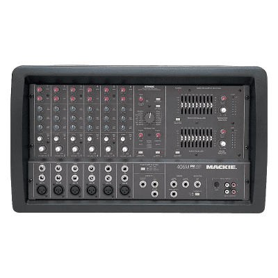 Mackie 406M 6-Channel 500-Watt Powered Mixer