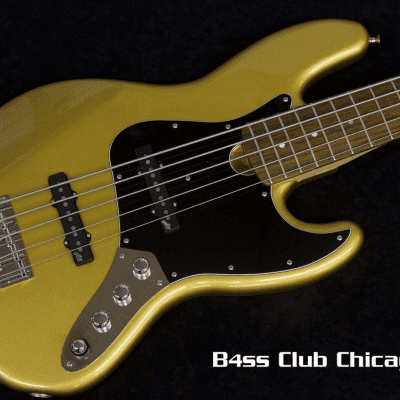 Roscoe Classic JJ 5 string Gold for sale