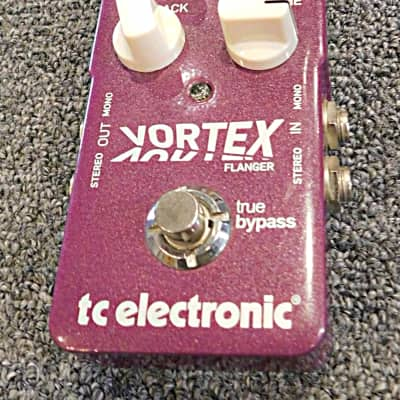 TC Electronic Vortex Flanger Stereo Flanger Guitar Effects Pedal 2010s