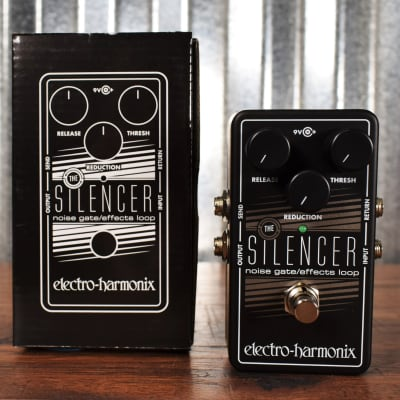Electro-Harmonix EHX The SILENCER Noise Gate & Effects Loop Guitar & Bass Pedal