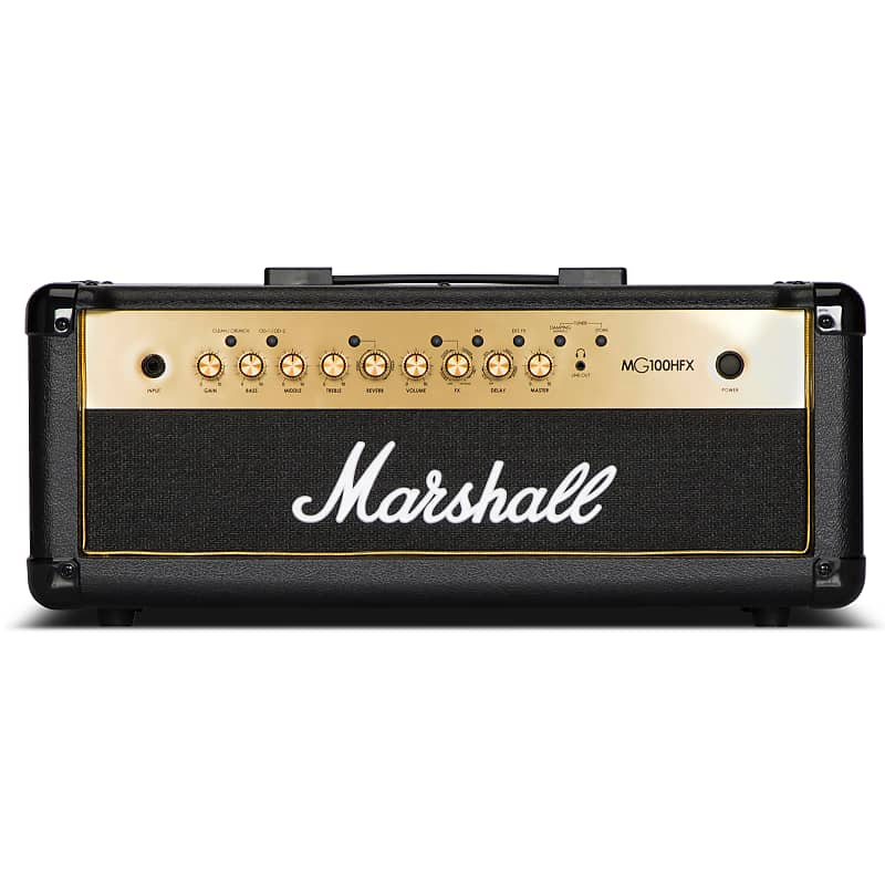 differently best sale outlet for sale Marshall MG Gold Series Half Stack with MG100HFX Head and MG412A Cabinet
