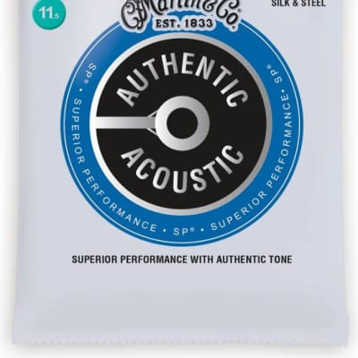 Martin MA130 Authentic Acoustic Superior Performance Strings, Silk and Steel