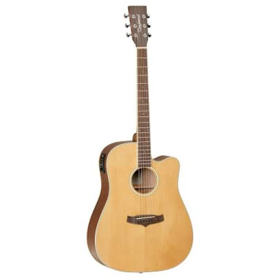 Tanglewood TW2 AS E Orchestra Acoustic-Electric Guitar w/ Hard Case