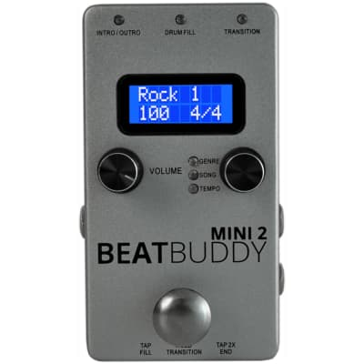 BeatBuddy Mini Version 2 Pedal Drum Machine