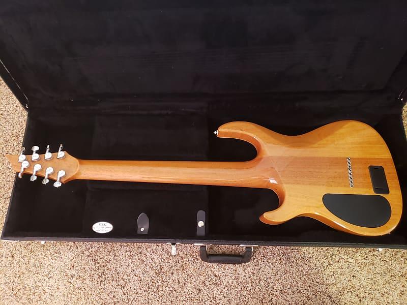 carvin kiesel dc800 8 string guitar 2014 blue burst reverb. Black Bedroom Furniture Sets. Home Design Ideas