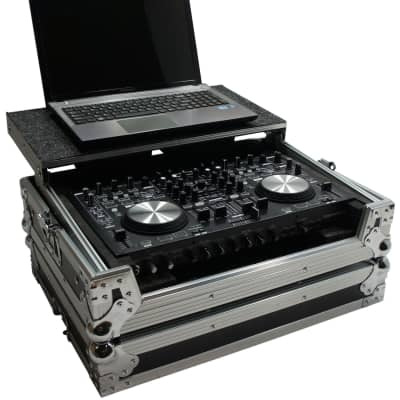 Harmony HCDNMC6000LT Flight Glide Laptop Stand DJ Case for Denon DN-MC6000 New