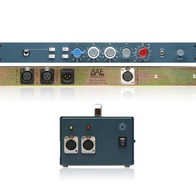 BAE Audio 1073 Mic Pre / EQ with Power Supply | Pro Audio LA image