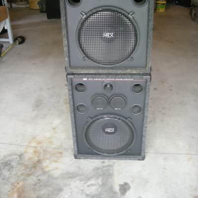 MTX Pro 115 200 watt RMS/400 Watt Peak Speaker Pair with Spare Parts