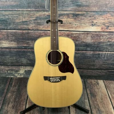 Crafter D8-12EQ/N  Acoustic Electric 12 String Guitar with Crafter Case for sale