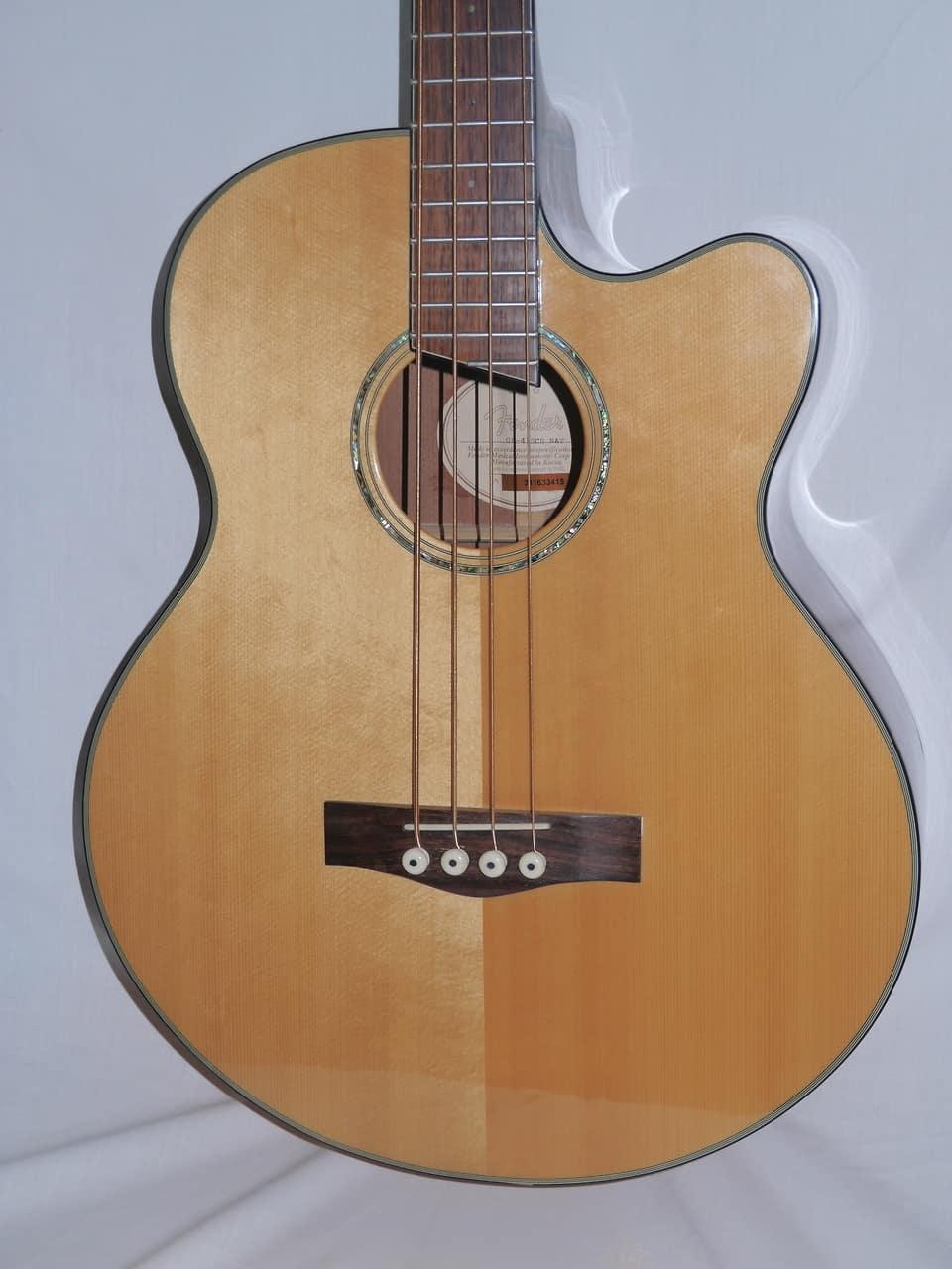 fender gb41sce acoustic electric bass guitar reverb. Black Bedroom Furniture Sets. Home Design Ideas