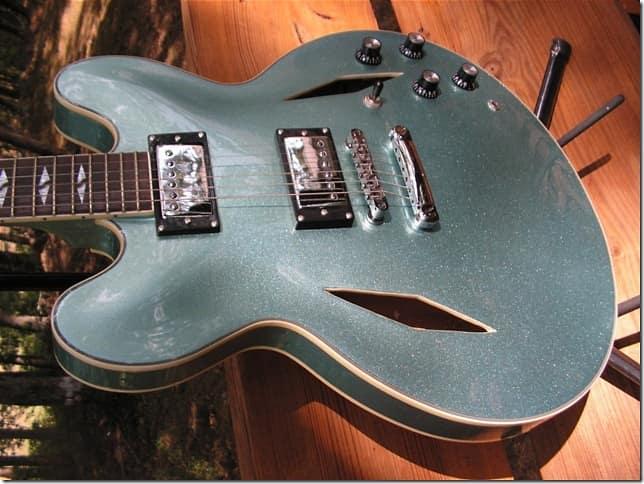 Pelham Ff 335 2013 Pelham Metallic Blue Reverb