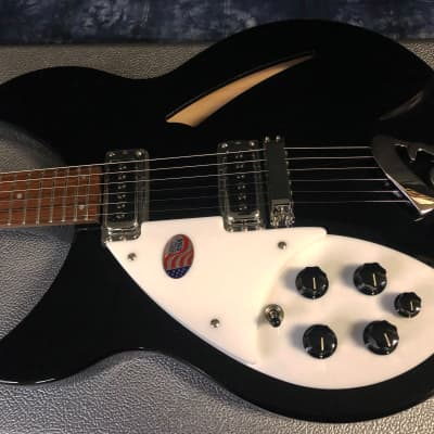 NEW! 2021 Rickenbacker 330 Left Handed Jet Glo Hollow Body - Custom Shop! Authorized Dealer RARE