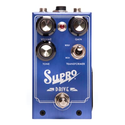 Supro 1305 Overdrive Pedal