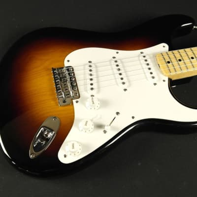 Fender Custom Shop 1955 Stratocaster NOS - Wide Fade 2-Tone Sunburst (161) for sale