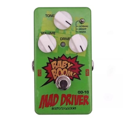 Biyang OD-10 Mad Driver Overdrive True Bypass
