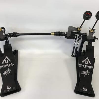 Axis Alfred berengena double bass drum pedal classic black