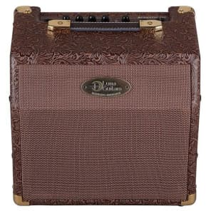 Luna Acoustic Ambience 1x6.5-Inch 15-Watt Portable Acoustic Guitar Amplifier, AA 15 for sale