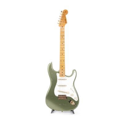 2014 Fender Custom Shop Master Design 1950s Relic Stratocaster Moss Green CZ523439 for sale