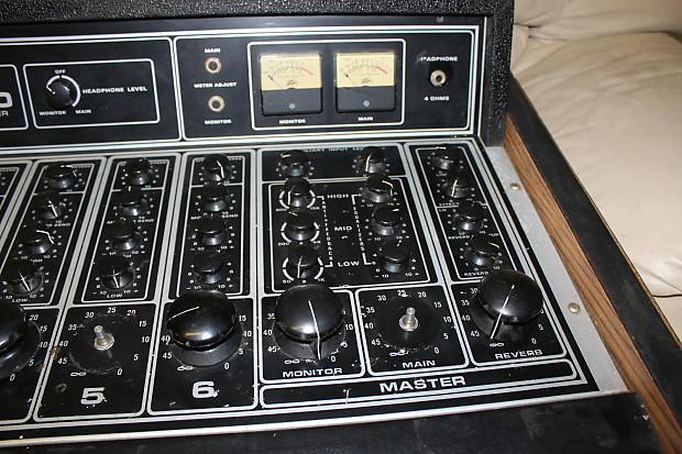 Peavey Pa 600 Mixer Amplifier Reverb
