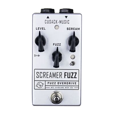 Cusack Music Screamer Fuzz Overdrive