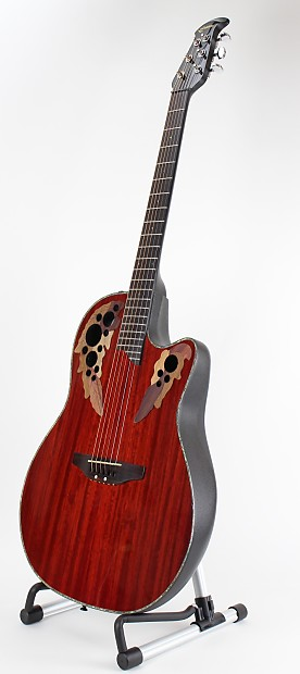 Ovation Celebrity Deluxe SS CC48 Acoustic-Electric Guitar ...