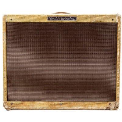 "Fender Twin 5D8-A Narrow Panel 25-Watt 2x12"" Guitar Combo 1955"