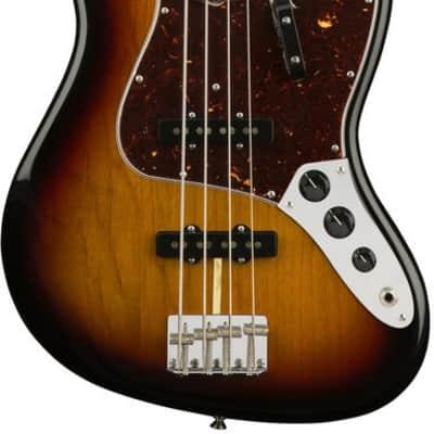 Fender American Original '60s Jazz Bass, Sunburst Finish w/ Hardshell Case