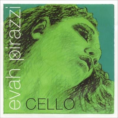 Pirastro Evah Pirazzi Soloist 4/4 Cello D String - Medium Gauge - Chromesteel Winding-Steel Core