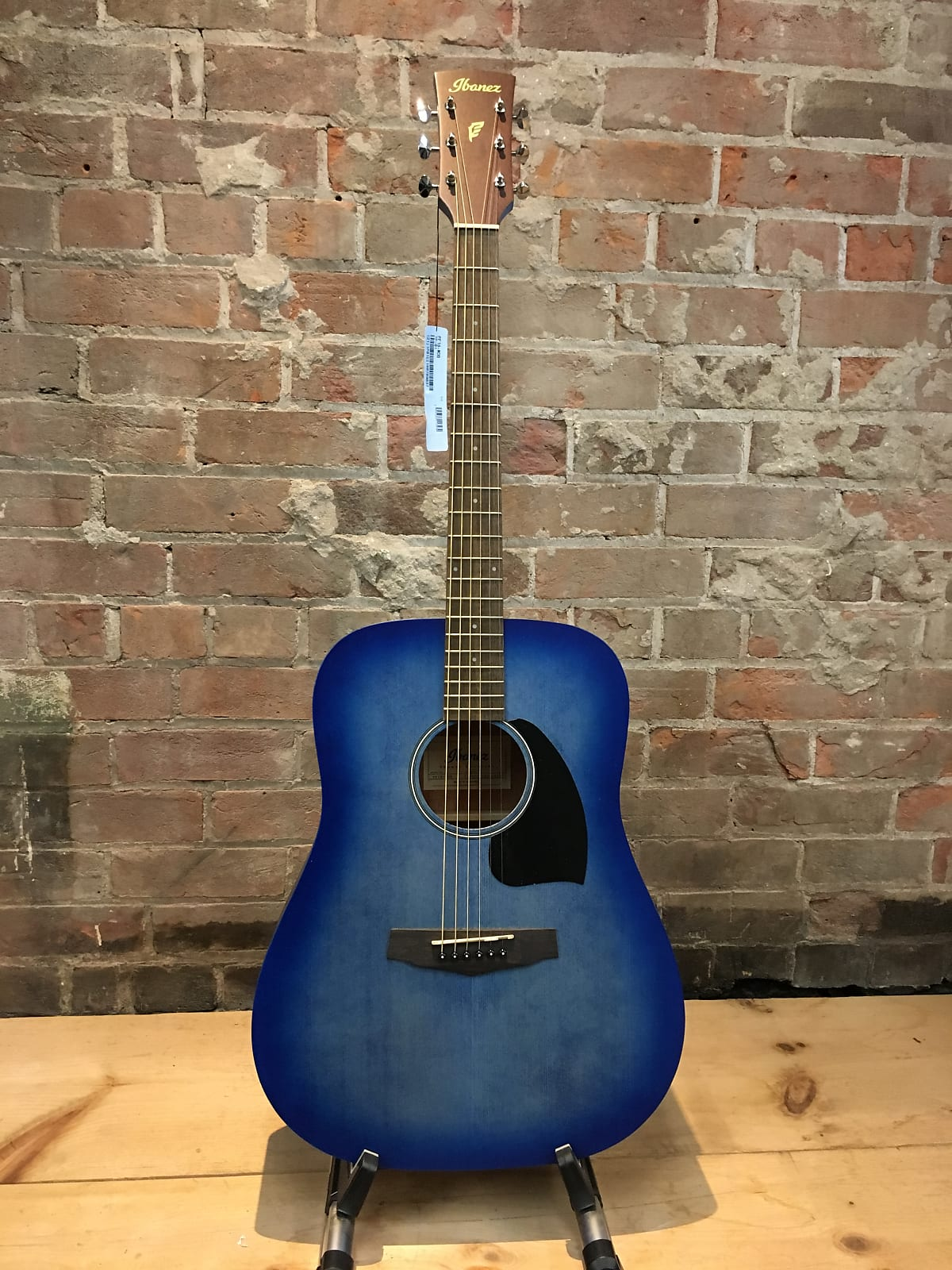 Ibanez PF18-WDB Acoustic Guitar Blue Denim
