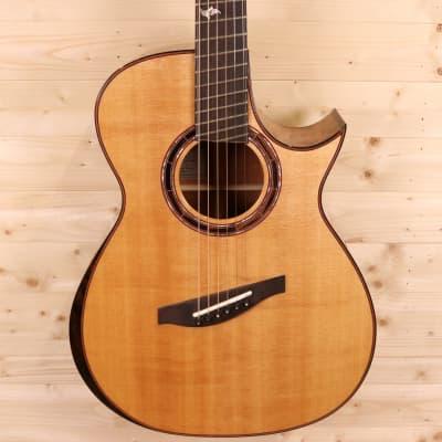 Karol Guitars #123 Handmade Fan-Fret Cutaway Acoustic Guitar for sale