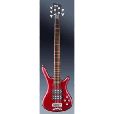 Warwick RockBass Corvette $$ 5-String Bass - Burgundy Red 1585390100CAASHAWW for sale