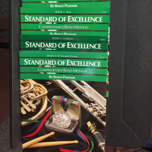 Neil A Kjos Music Company Standard of Excellence - Trombone (Book 3)