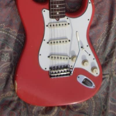 Fender Stratocaster Fiesta Red 1966 for sale