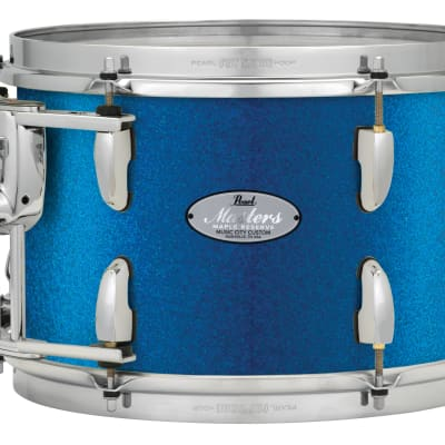 "Pearl Music City Custom 8""x7"" Masters Maple Reserve Series Tom Drum w/optimount MRV0807T - Vintage Blue Sparkle"
