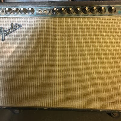 Fender Twin Reverb Master Vol 1974 Silverface