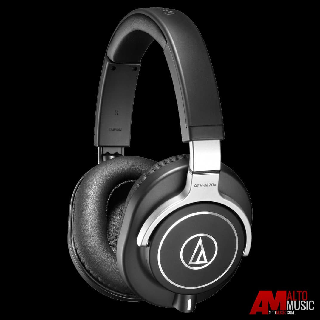 audio technica ath m70x pro monitor headphones factory reverb. Black Bedroom Furniture Sets. Home Design Ideas