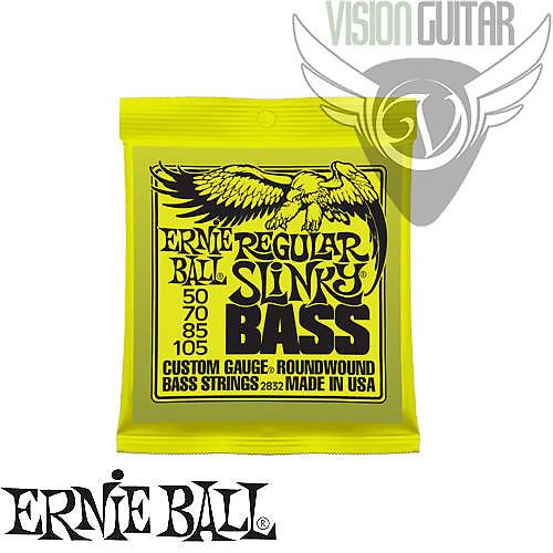 ernie ball 2832 regular slinky bass nickel wound strings reverb. Black Bedroom Furniture Sets. Home Design Ideas