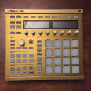 Native Instruments Maschine MkII Limited Edition Gold