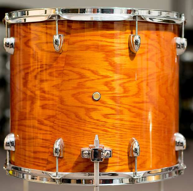 Yamaha oak custom 16x14 york honey amber floor tom reverb for 16x14 floor tom