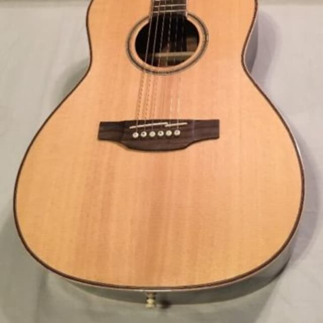 Takamine GY93 New Yorker Parlor Acoustic Guitar Natural image