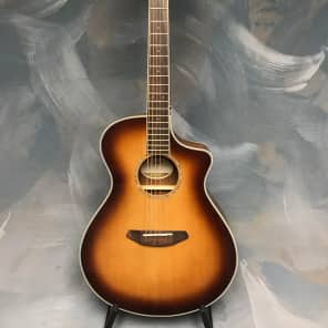 Breedlove Pursuit Concert Australian Blackwood 2016 Sunburst for sale