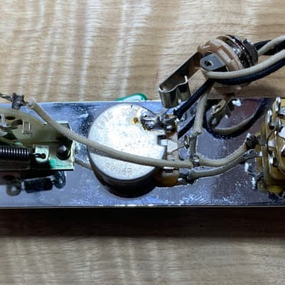 Tele Wiring Harness - Fender TBX Tone Control, CTS Pot Switchcraft 3 Way - Chrome Plate - Ships FREE