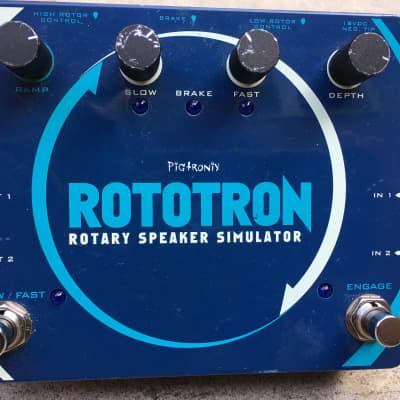 Pigtronix Rototron Rotary Speaker Emulator (owned by Walter Becker/Steely Dan)
