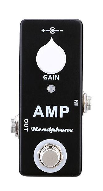 mosky amp headphone mini pedal mxr microamp style guitar reverb. Black Bedroom Furniture Sets. Home Design Ideas