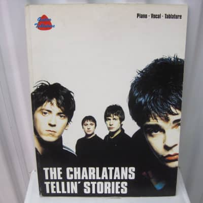 The Charlatans Tellin' Stories Sheet Music Song Book Songbook Piano Vocal Tablature