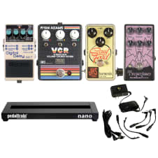 "Loaded Pedalboard ""Modern Classic Boutique"" W/FREE Power Supply"