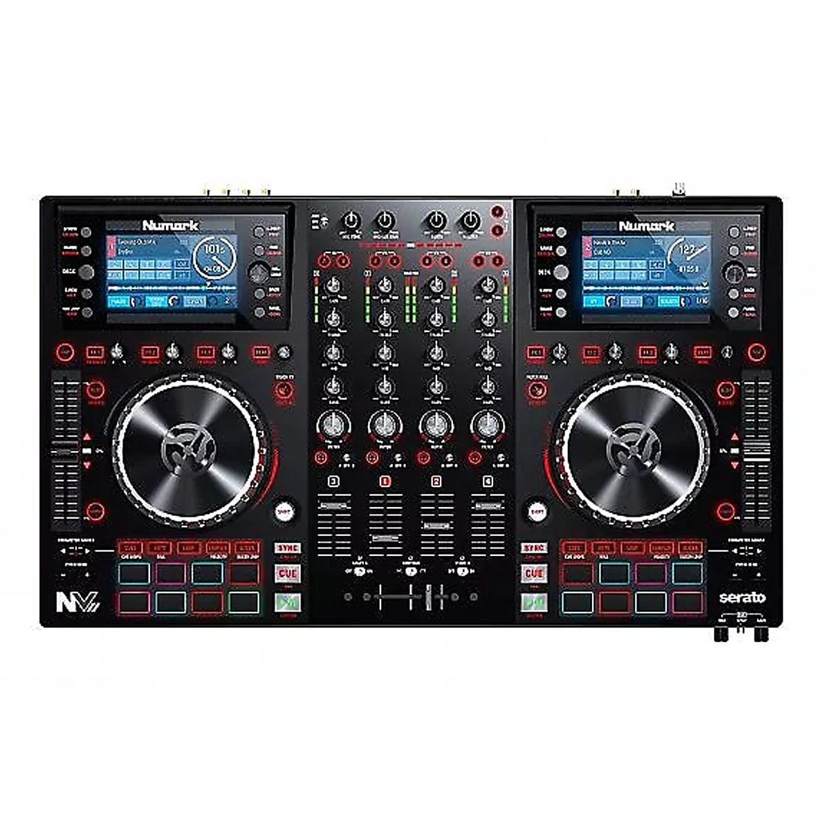 Numark NVII Intelligent Dual-Display controller for Serato DJ