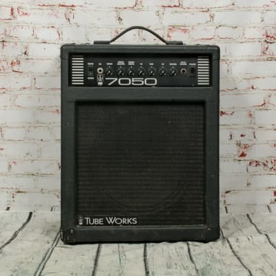Tube Works 7050 Hybrid Tube/Solid State Guitar Combo Amp x2489 (USED) for sale